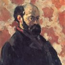 Self Portrait in Pink, 1875 - A3 Poster