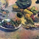 Still Life with Fruit by Gauguin - A3 Poster