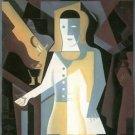 Pierrot [3] by Juan Gris - Poster Print (24 X 18 Inch)