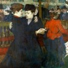 Dancing a Valse by Toulouse-Lautrec - 30x40 IN Canvas