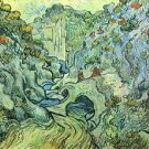 The Ravine by Van Gogh - A3 Poster