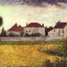 Ville d'Avray, The white houses by Seurat - 24x18 IN Poster