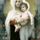 The Madonna of the Roses_lg - 24x32 IN Canvas