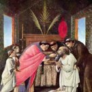 The Last Communion of St. Jerome by Botticelli - 24x32 IN Canvas