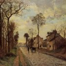Road in Louveciennes, 1870 - A3 Poster