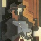 Men from the Tourraine by Juan Gris - 24x18 IN Poster