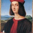 ritratto di uomo 2 by Raffaello - 24x18 IN Poster