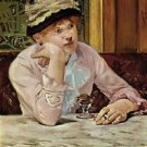 Pflaume by Manet - A3 Poster
