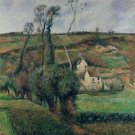 The Hill of Chou at Pontoise, 1892 - 24x18 IN Poster