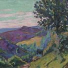 Landscape of Crozant, 1922 - 30x40 IN Canvas