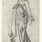 The second foolish virgin 1. 1470-1490 - 24x18 IN Poster