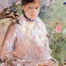 Summer (Young woman at the window) by Morisot - A3 Poster