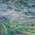 Mount Sainte-Victoire with Large Pine, 1882 - A3 Poster