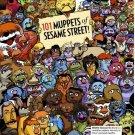 Vinteja charts of - 101 Muppets - A3 Paper Print