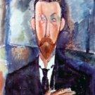 Modigliani - Portrait of Paul Alexanders - A3 Poster