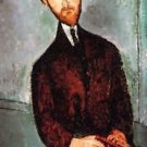 Modigliani - Portrait of Leopold Zborowski [3] - A3 Poster