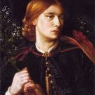 Portrait of Maria Leathart, 1862 - A3 Poster
