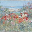 Celia Thaxter's Garden, Isles of Shoals, Maine, 1890 - A3 Poster