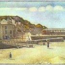Bridge and Port of Port-en-Bessin by Seurat - Poster (24x32IN)