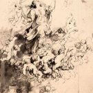Assumption of Mary by Rubens - 24x18 IN Canvas