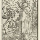 Old Woman and Death. 1524-1538 - 24x32 IN Canvas