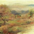 Landscape in Red, 1900-10 - A3 Poster