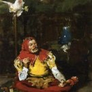 The King's Jester, 1875 - A3 Poster