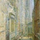 Lower Manhattan (aka Broad and Wall Streets), 1907 - 30x40 IN Canvas