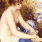 Little Nude in Blue by Renoir - A3 Poster