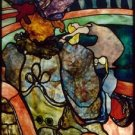 Toulouse-Lautrec - Stained glass - A3 Poster
