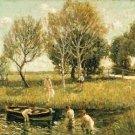 Boys Bathing, 1908-10 - A3 Poster