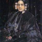 Portrait of Mrs. Julius Erson, 1890 - 24x32 IN Canvas