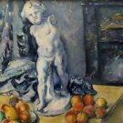 Still Life with Plaster Cupid - 24x32 IN Canvas