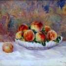 Still Life with Peaches, 1881-82 - 24x32 IN Canvas