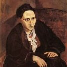 Portrait of Gertrude Stein [1905-6] - 24x32 IN Canvas