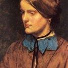 Portrait of Annie Miller, 1854 - 24x32 IN Canvas