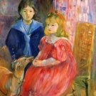 Children of Gabriel Thomas by Morisot - A3 Poster