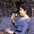 Portrait of Helene Weigle - 30x40 IN Canvas