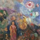 Buddah and Flowers, 1908 - 30x40 IN Canvas