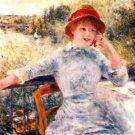 Portrait of Alphonsine Fournaise - A3 Poster