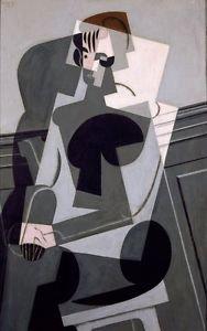 Juan Gris - Portrait of Josette Gris - A3 Poster