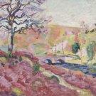 Landscape with Bridge, - 30x40 IN Canvas
