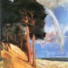 Landscape 2 by Lesser Ury - A3 Paper Print