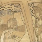 Jan Toorop - Desire and Satisfaction - 30x40IN Canvas Painting