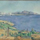 The Gulf of Marseilles Seen from L'Estaque, 1885 - A3 Poster