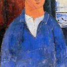 Modigliani - Portrait of Moise Kisling [2] - 30x40 IN Canvas