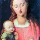 The Virgin and Child [1] by Durer - 30x40 IN Canvas
