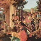 Adoration of the Magi (Washington) Detail 2 by Botticelli - A3 Poster