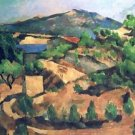 Mountains Seen from L'Estaque, 1886 - 30x40 IN Canvas