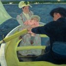 Cassatt - The Boating Party - 24x32IN Paper Print